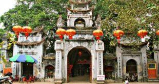 Hình ảnh đền mẫu ở Hưng Yên