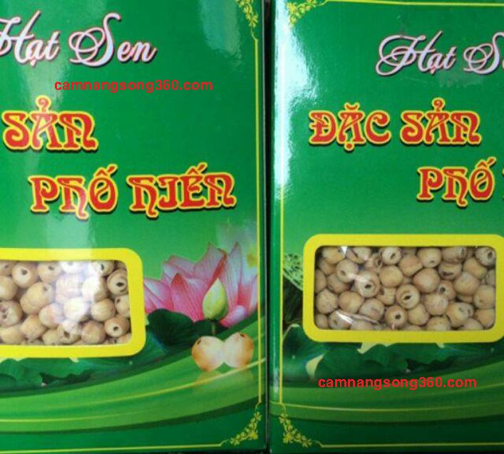 Mua hạt sen khô làm quà biếu tại Hà Nội
