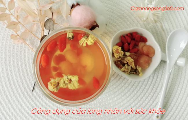 cong dung cua long nhan