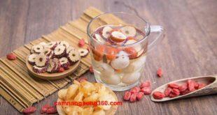 Cách nấu nước long nhãn táo đỏ kỷ tử tại nhà