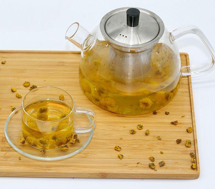 Cách sủ dụng trà hoa cúc cho bà bầu