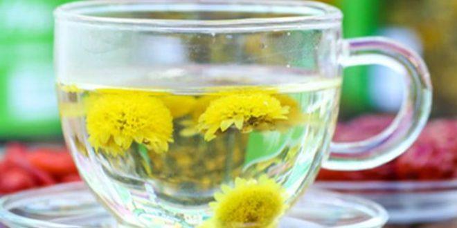 Cách pha trà hoa cúc