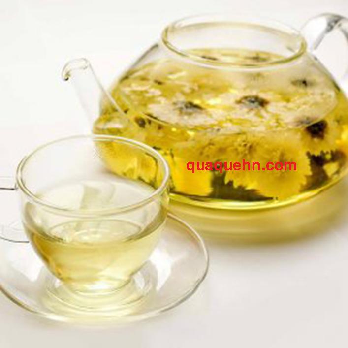 Cách pha trà hoa cúc khô