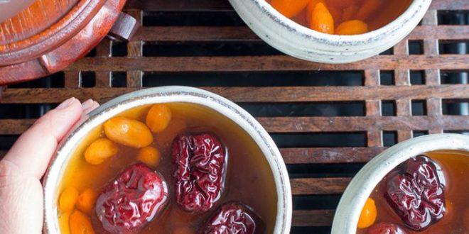 Cách nấu nước táo đỏ kỷ tử