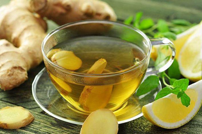 Cách pha trà gừng mật ong
