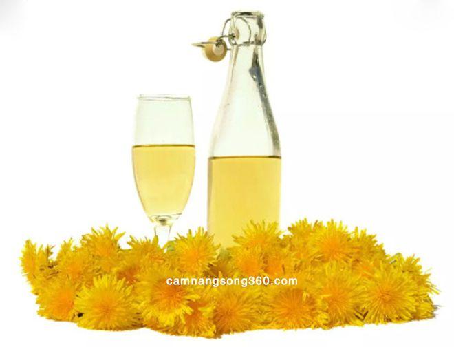 tác dụng của rượu hoa cúc