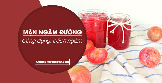 cach lam nuoc man ngam duong